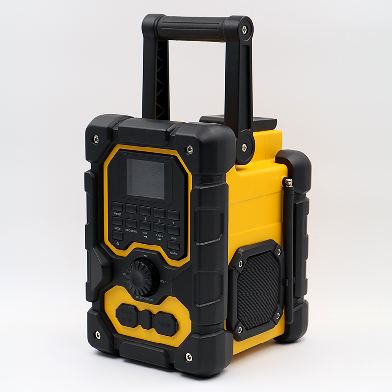 Multifunctional Heavy Duty Jobksite DAB FM Radio Waterproof